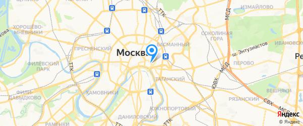 АСЦ Electrolux на карте Москвы