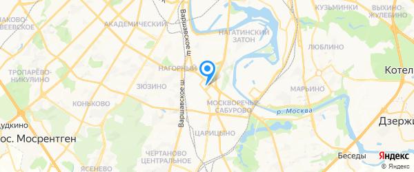 Диа-сервис на карте Москвы