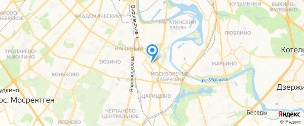 Союзоргтехника на карте Москвы