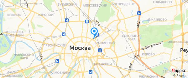 ГолдФон на карте Москвы