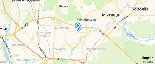 Ником на карте Москвы