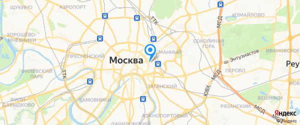 Сонико-Сервис на карте Москвы