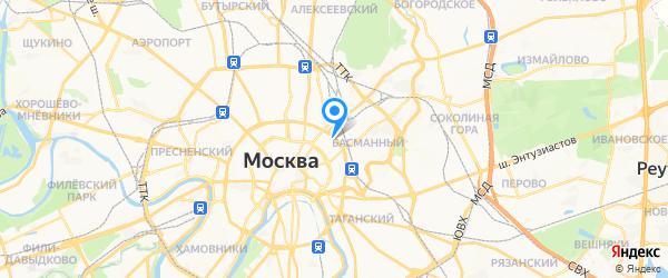 Хороший ремонт на карте Москвы