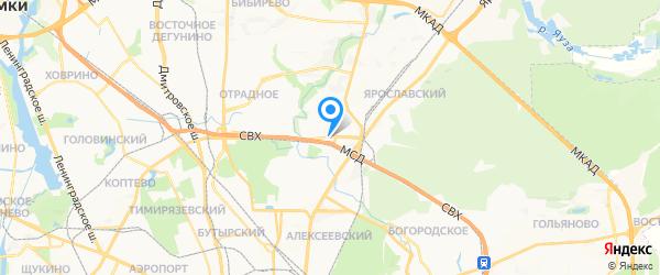 Авторизованный сервис-центр HP на карте Москвы