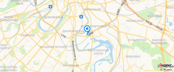 Ultra Service на карте Москвы