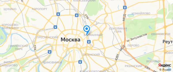 Azbuka на карте Москвы