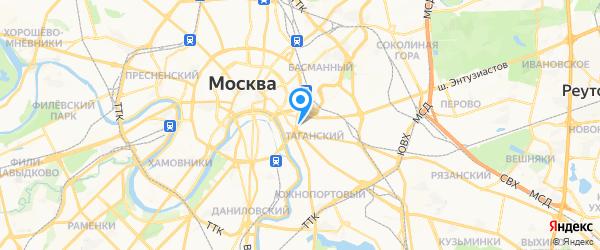 SwisSevice на карте Москвы