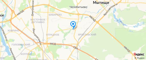 Спец-сервис на карте Москвы