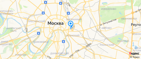 Moulinex на карте Москвы