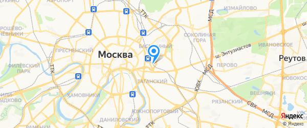 Бош Сервис на карте Москвы