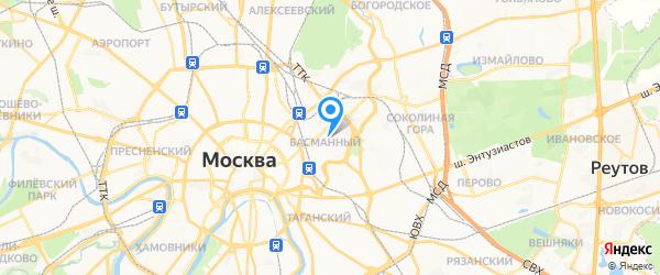 Loewe, Bose на карте Москвы