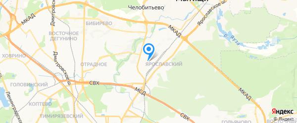 Нетград Сервис на карте Москвы