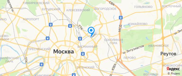 ТеплоСпецЦентр на карте Москвы