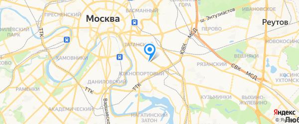 БСМ  Технолоджис на карте Москвы