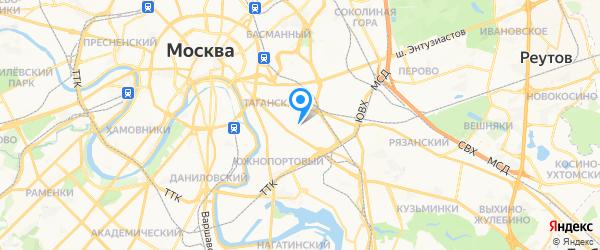 ИП Филимонова Т.Н. на карте Москвы
