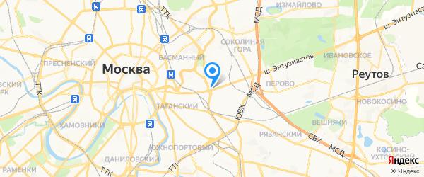 Cheaptool на карте Москвы