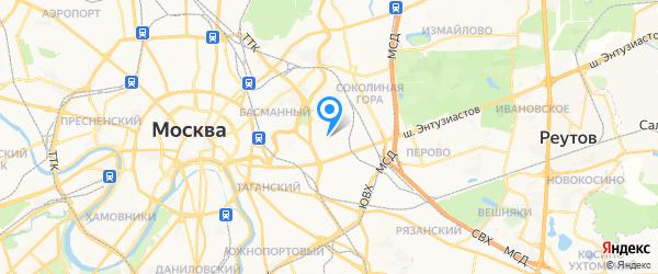 Портативные системы на карте Москвы