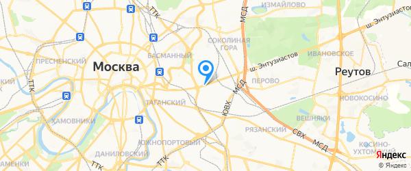 Wellfix на карте Москвы
