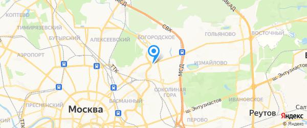 КвК-тепло.ру на карте Москвы