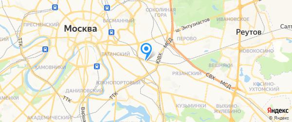 ASUS24 на карте Москвы