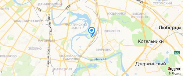 ТЦ Корея-Сервис на карте Москвы