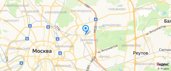 Мультиремонт на карте Москвы