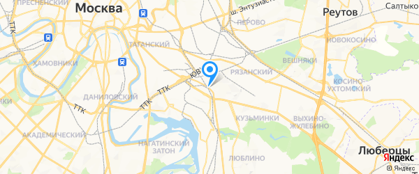 Новый Мастер на карте Москвы
