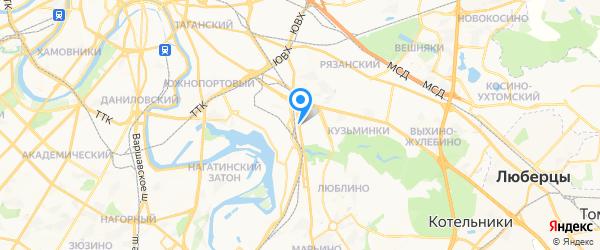 МастерПлазма на карте Москвы