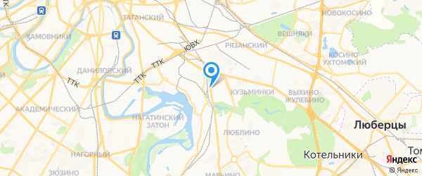 Точка Ремонта на карте Москвы