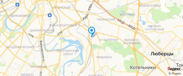 Русремсервис на карте Москвы