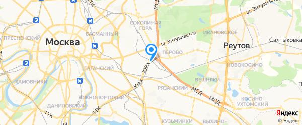 Компьютерная помощь на карте Москвы