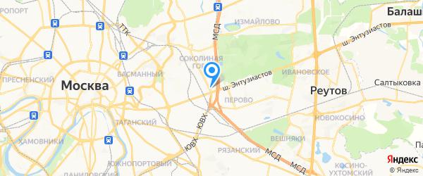 Компьютерная служба спасения 911 на карте Москвы