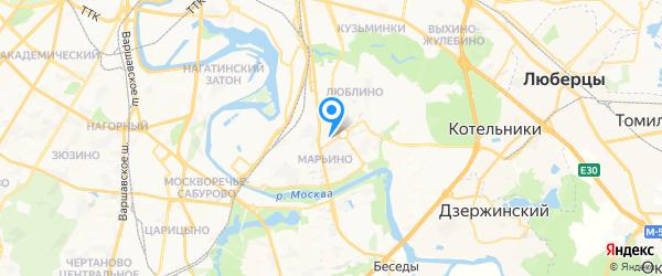 Тех-Профи на карте Москвы