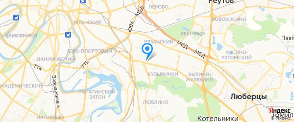 Мастер Комп на карте Москвы