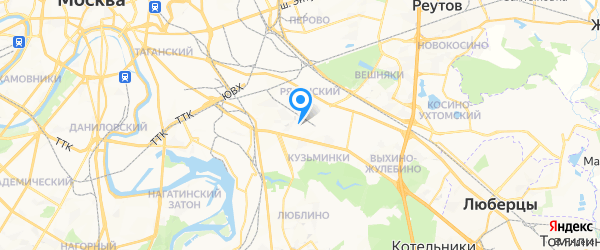 Сава-Сервис на карте Москвы