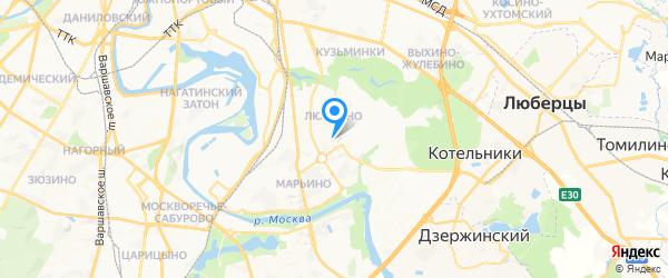 АБИТ-Центр на карте Москвы