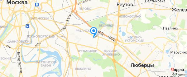 Студия Ювелирного Мастерства на карте Москвы