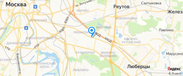 Мульти-Сервис на карте Москвы