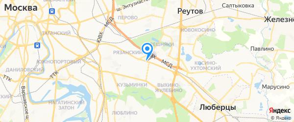 Сервис центр See-it на карте Москвы