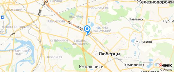 Центр диагностики и ремонта на Привольной на карте Москвы