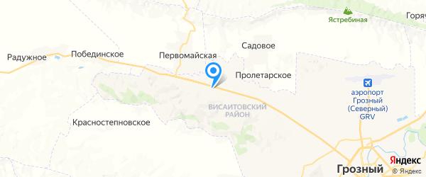 ГИС   т/к  Каретный Двор на карте Баку