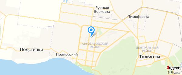 ПКС Юзер на карте Тольятти