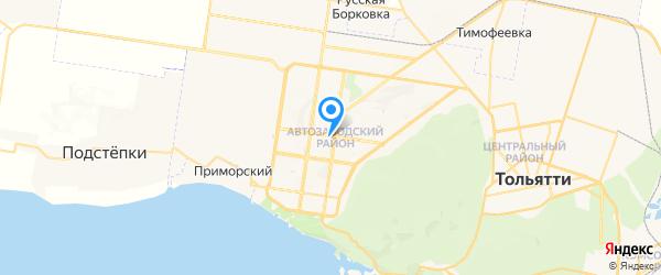 Цифраград на карте Тольятти