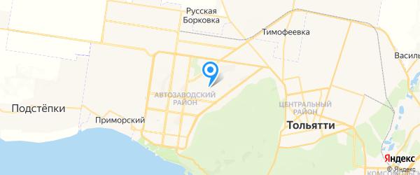 Альфа-Сервис на карте Тольятти