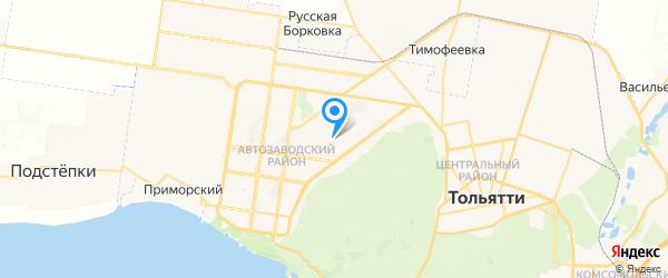Дэкстра-Сервис на карте Тольятти