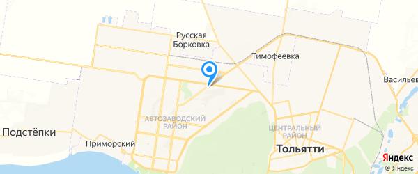 Graliv на карте Тольятти