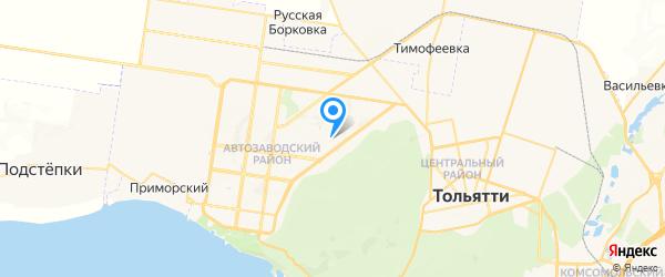 RSS на карте Тольятти