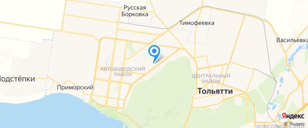 Голдфон на карте Тольятти