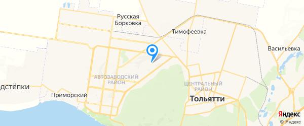КОМПЬЮТЕР СЕРВИС на карте Тольятти