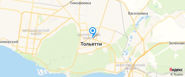 Flash Drive на карте Тольятти